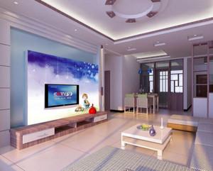 大户型室内电视墙装修效果图大全