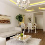 简约小韩式客厅装潢