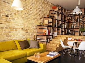 书房整体书架设计