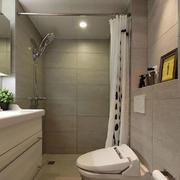 洗手间帘幔装饰
