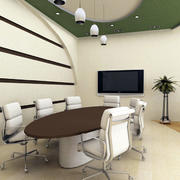 小型现代简约风格会议室