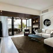 简约风格豪宅沙发设计