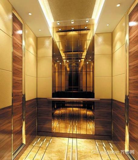 艺术的新载体:电梯环境艺术设计装潢效果图大全