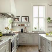 欧式田园风格厨房橱柜设计