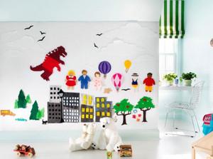 儿童房创意墙饰设计
