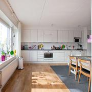 欧式田园风格一字型厨房