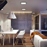 loft餐厅吊顶设计