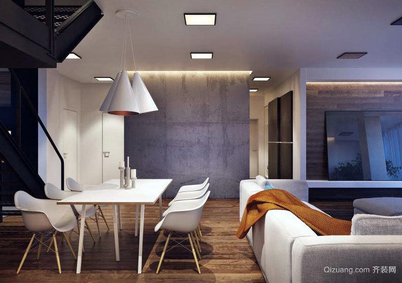 精致美式风格大户型loft装修效果图欣赏图集