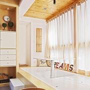 日式大型飘窗效果图