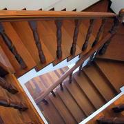 中式楼梯装饰图示