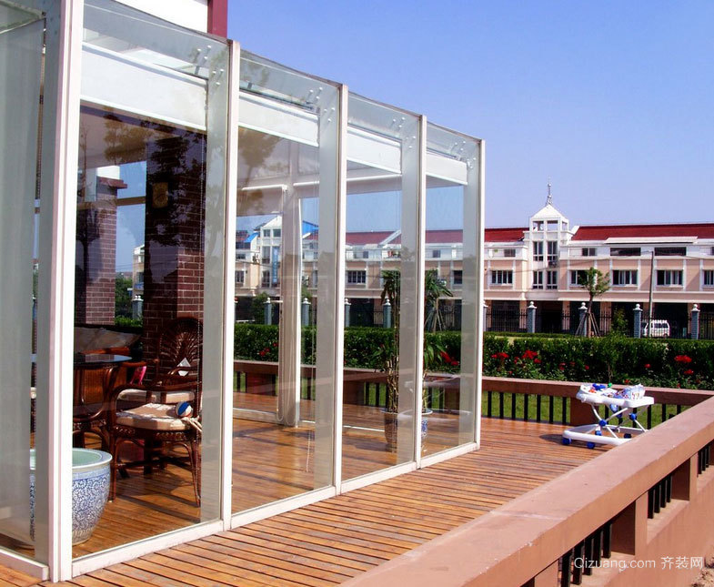 设计独到的别墅阳光房装修效果图案例欣赏