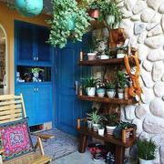 入户花园花架设计