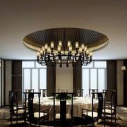 酒店圆形餐厅吊顶设计