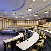 大型教室半圆形吊顶设计