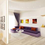 小户型客厅设计效果图