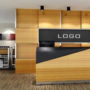公司logo柜台装修