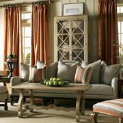 小洋房简约窗帘设计