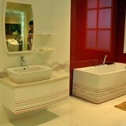 韩式清新卫浴设计
