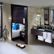 卫生间简约风格浴缸装修