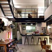 loft开放式小厨房