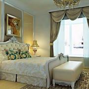 卧室精美欧式背景墙装修