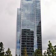 高层写字楼玻璃外观造型
