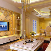 欧式客厅茶几装修