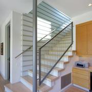 简约风格地下室楼梯设计