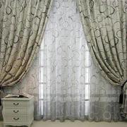 欧式田园风格窗帘装修设计