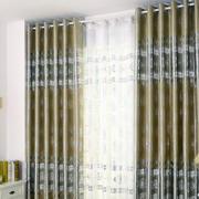 现代简约风格卧室窗帘