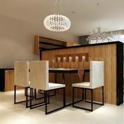 现代简约风格餐桌设计