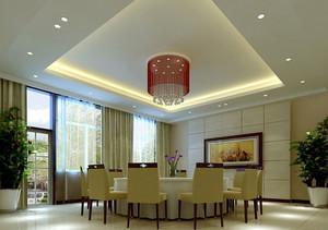 现代简约风格酒店餐厅