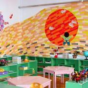 色彩斑斓的幼儿园教室装修