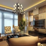 客厅背景墙装潢设计