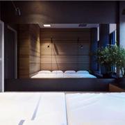loft卧室简约设计