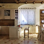 混搭风格开放式厨房