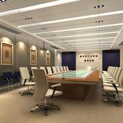 简约风格会议室天花板
