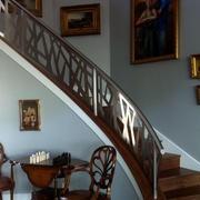 钢制楼梯扶手设计