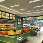 绿色环保超市货架设计