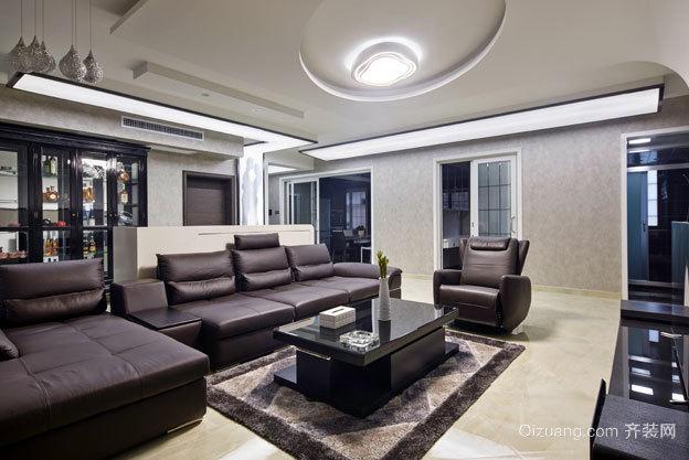 不负盛情:100平米三室两厅室内精装修效果图