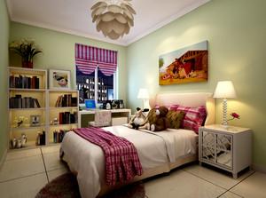 100%的爱:儿童房高低床设计效果图展示
