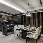 后现代风格厨房桌椅设计