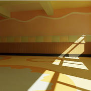 幼儿园教室简约设计