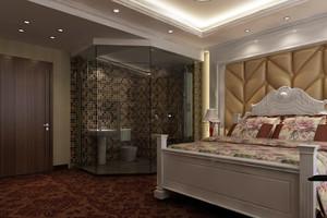 酒店软包卧室背景墙设计