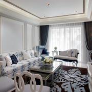 韩式客厅沙发设计