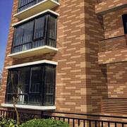 别墅拼色瓷砖设计