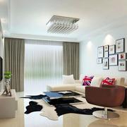 韩式客厅窗帘图示
