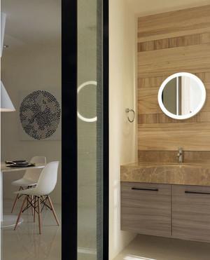 温馨家庭中的大户型洗手间隔断设计效果图欣赏图集