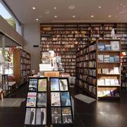 书店简约时尚吊顶设计