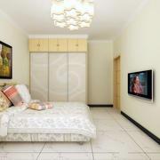现代简约风格卧室整体橱柜设计
